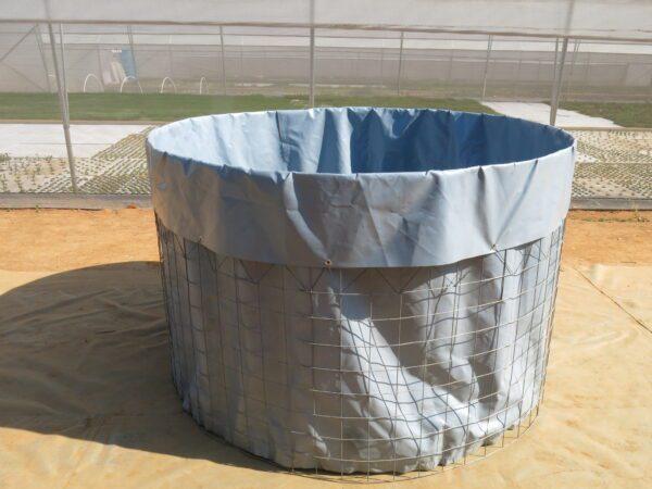 Welded mesh tank / reservoir